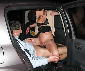 Young ladies fucked in the night in cars like real sluts