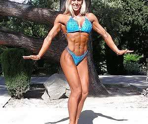 Female muscles, flexy bodies for beauty lovers.