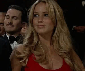 Celebrity animated GIF