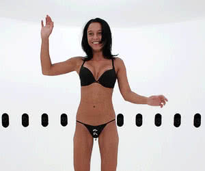Lingerie animated GIF