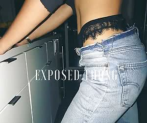 Exposed Thong Whaletail