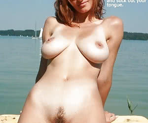 Mature ladies big old floppy tits