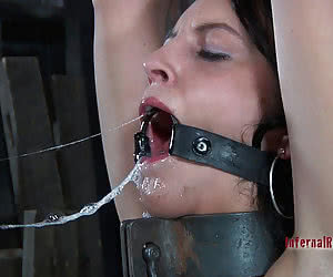 Mouth Gagged Open