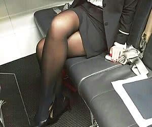 Category: stewardesses in pantyhose